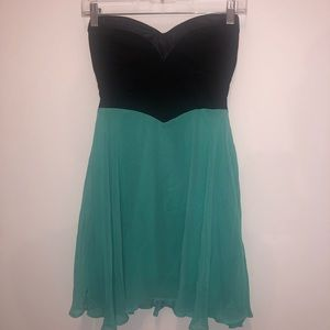 Material Girl Strapless Dress